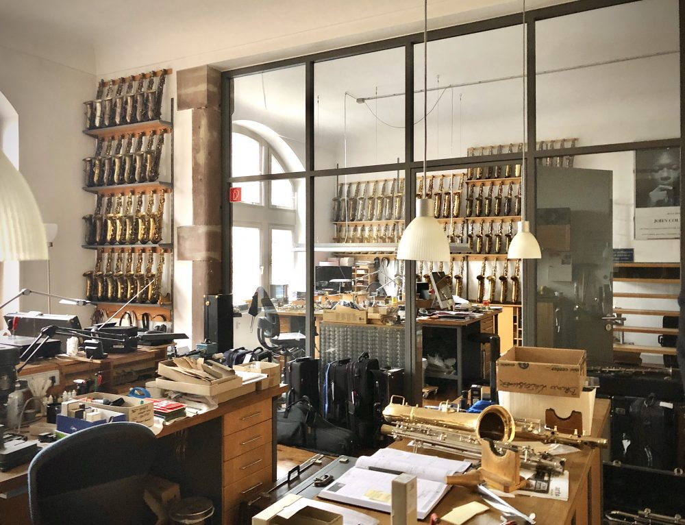 Op bezoek bij reparateur Bruno Waltersbacher in Lahr (D)