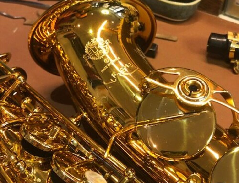 De nieuwe Selmer Supreme alt sax!